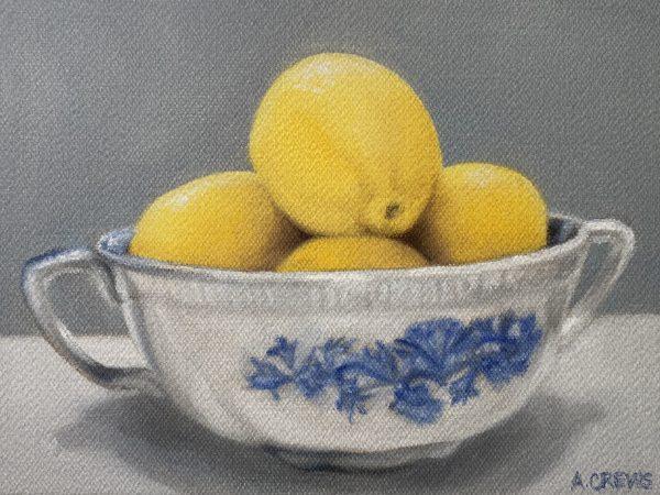 Lemon Still Life Print for Sale by Amy Crews