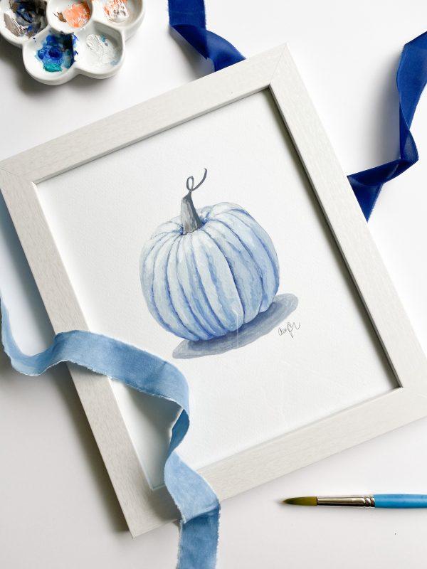 Great Pumpkin-Blue, 8x10 print