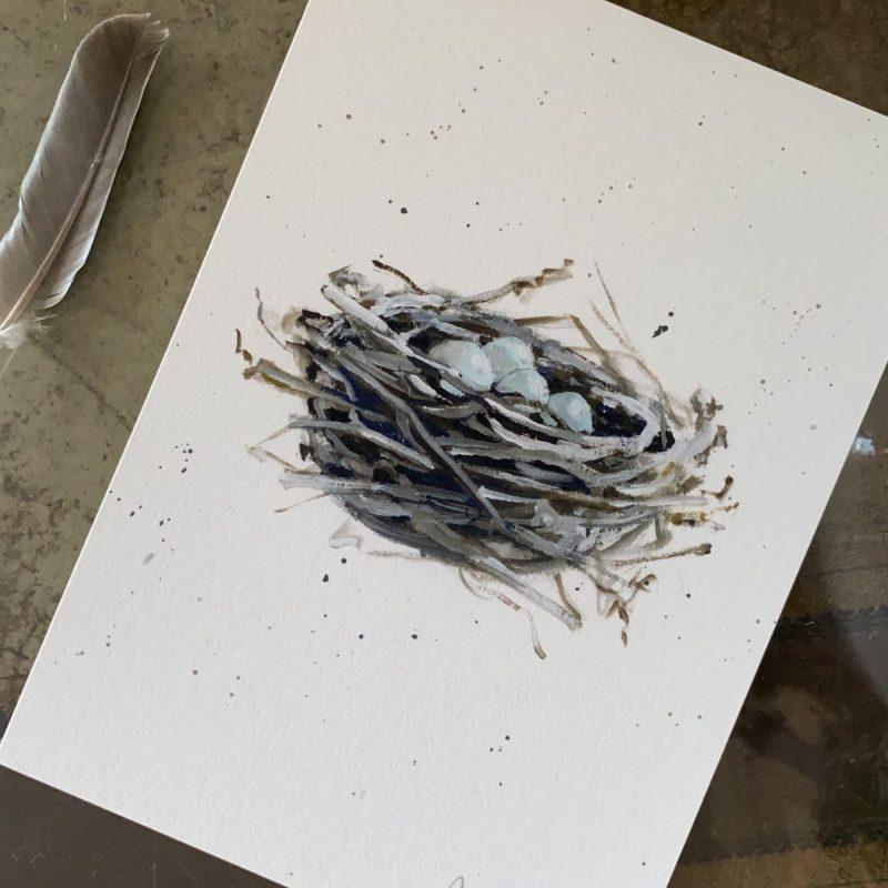 """Nest"" print"