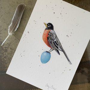 """Robin"" print"