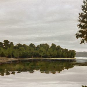 """Still Waters"" 30x40 by Amy Crews"