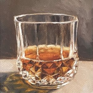 """""""Neat"""" Limited Edition Bourbon Print by A. Crews"""